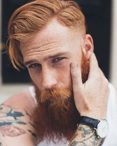 Pilot reccomend Redhead with beard