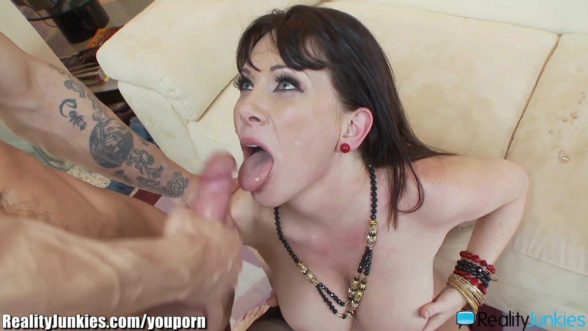 Lingerie brunette porn