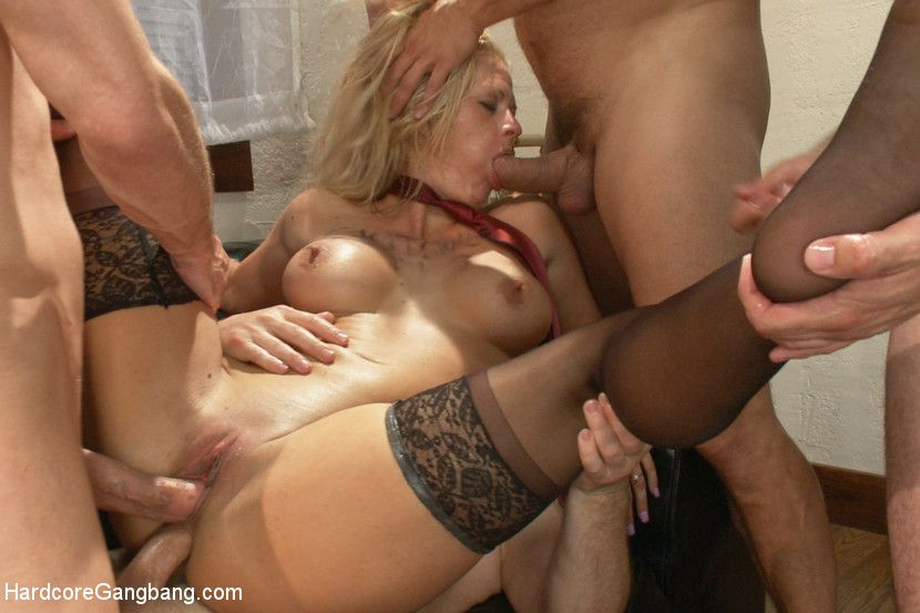 My whore wife wants a gangbang - Porn pictures.