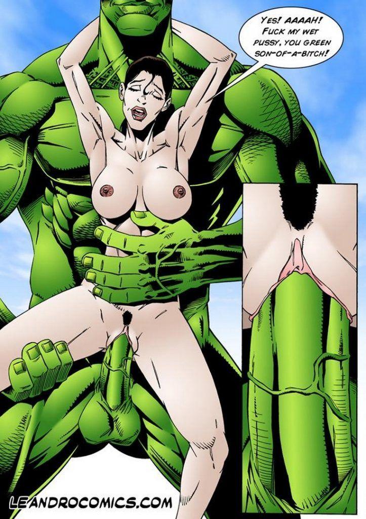 Bullseye reccomend Wonder woman hentai hulk
