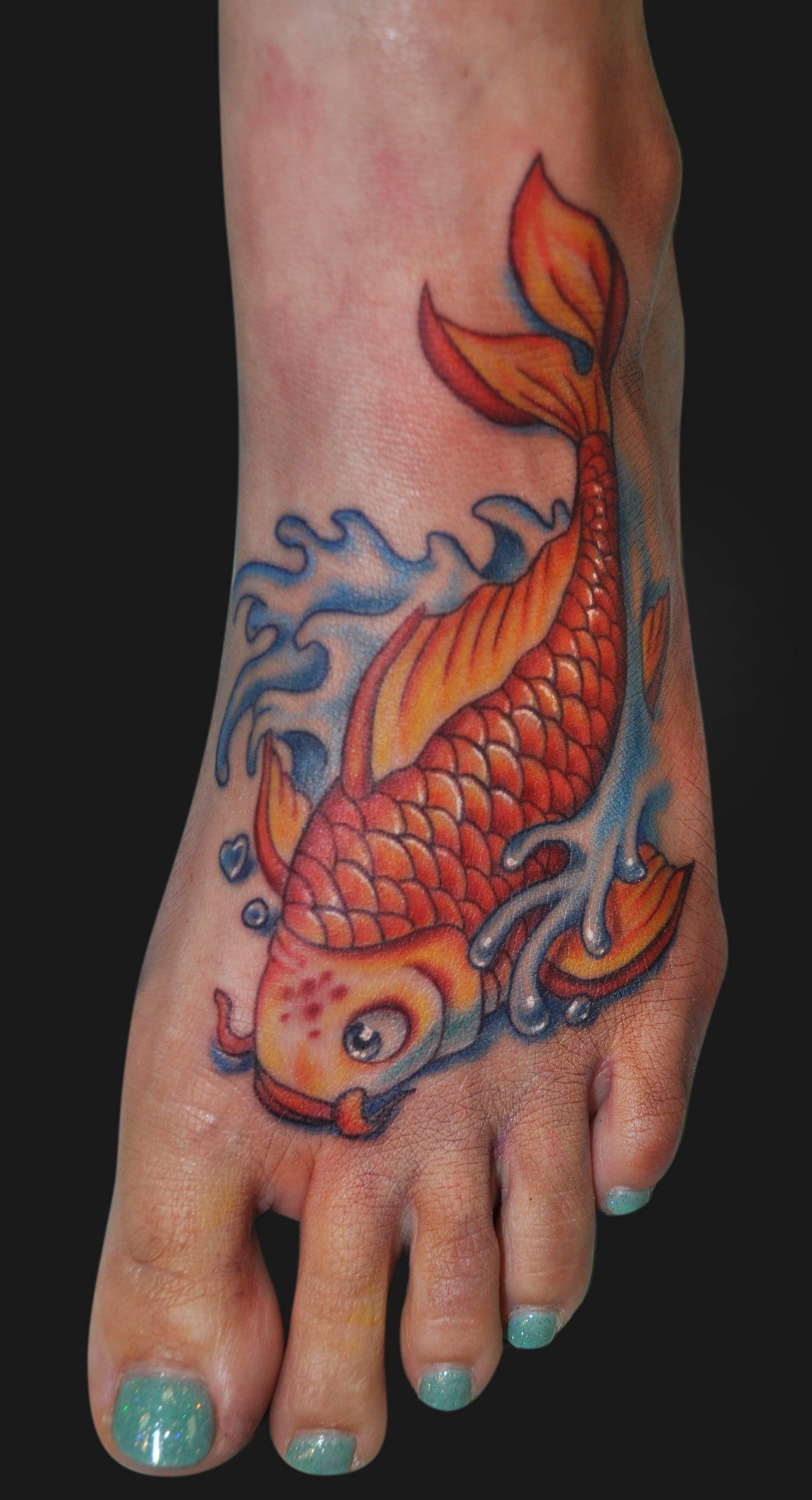 Goalie reccomend Pissed fish tattoos