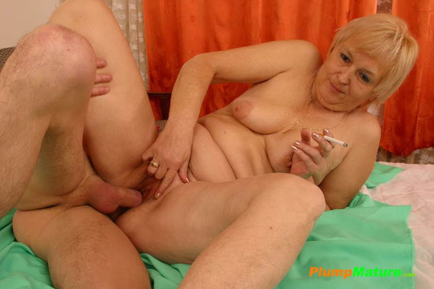 Excellent fat old lady naked