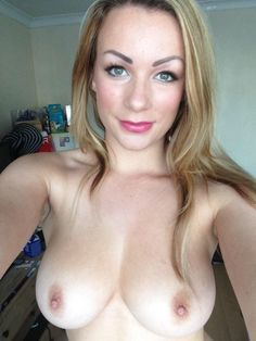 Big irish tits selfie