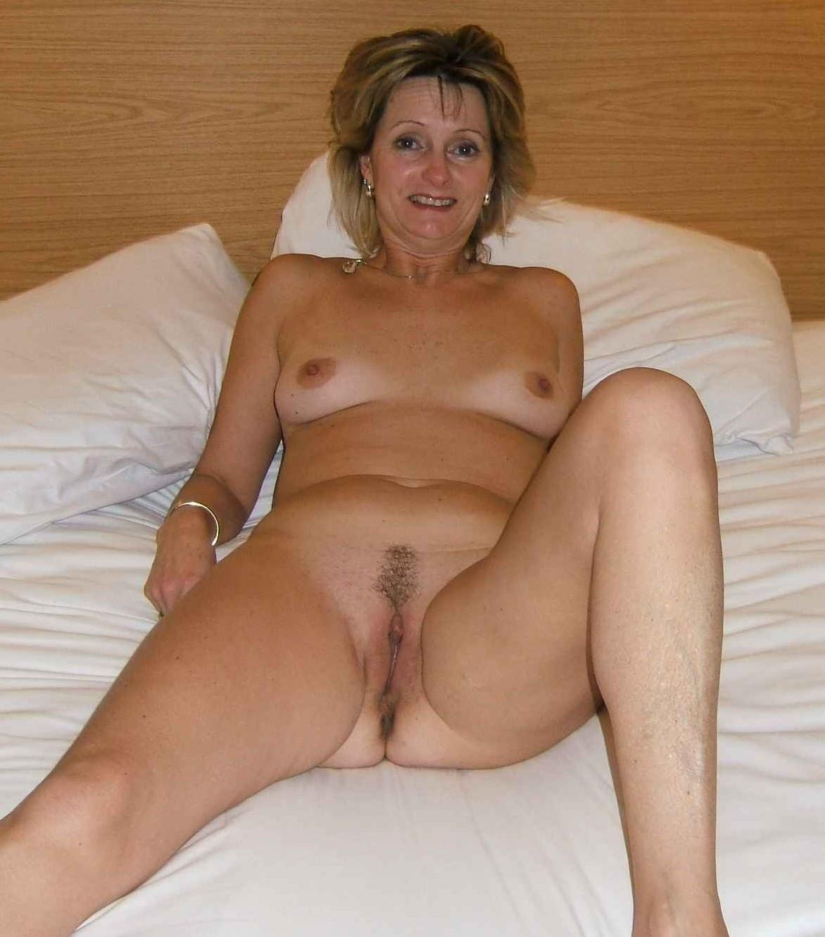 Cum filled skinny hairy mature