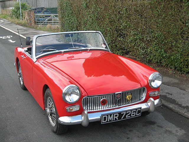 Mg midget car site