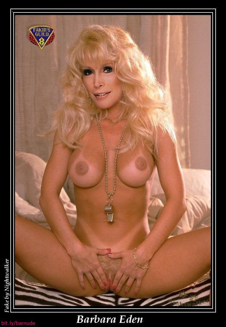 Variants barbara eden fake pussy speaking, opinion