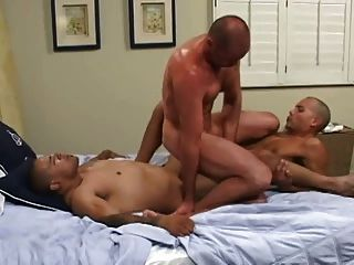 Huge gay interracial anal penetrations