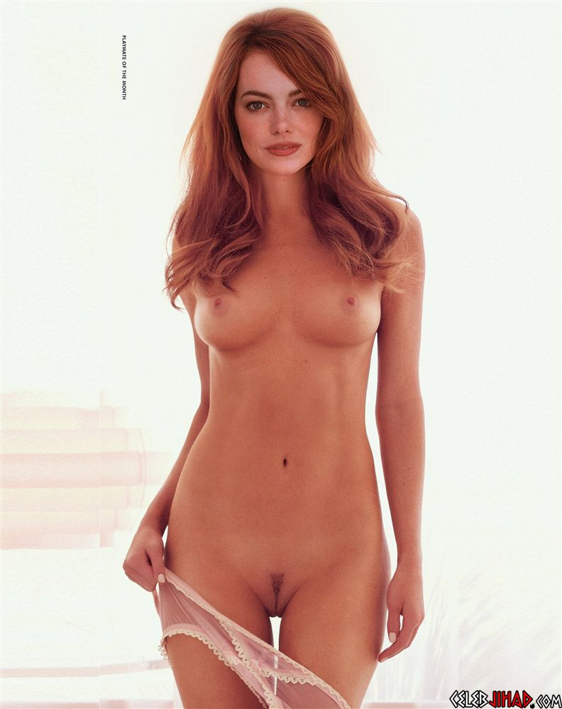 best of Playboy Emma photoshooy stone