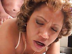Girl grabs dick in public