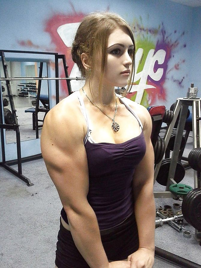 best of Girl Sexy hot muscle