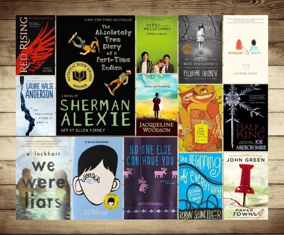 Best young adult fiction books