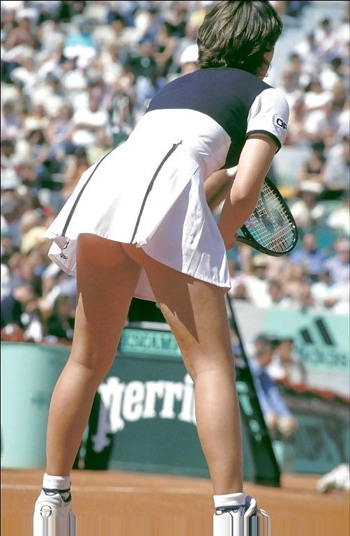 Nude tennis upskirts remarkable, this