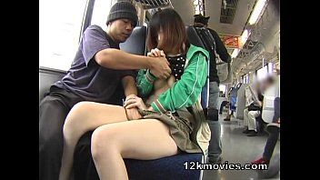 Bottomless girl on train-adult videos