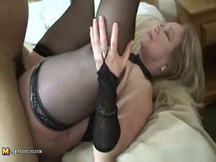 White interracial stockings wife tube