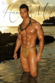 Hot naked hawaiian men