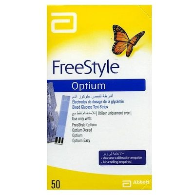 The S. reccomend Abbott free style test strips