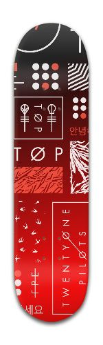 Twenty one pilots skateboard