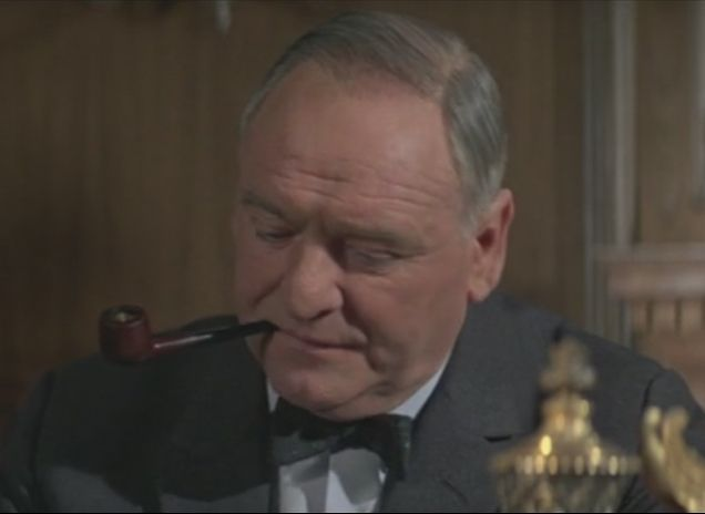General reccomend Pipe smoking in movies