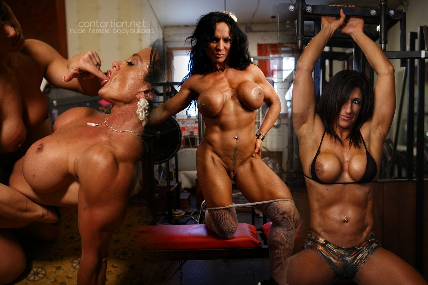 best of Behind Nude female muscle