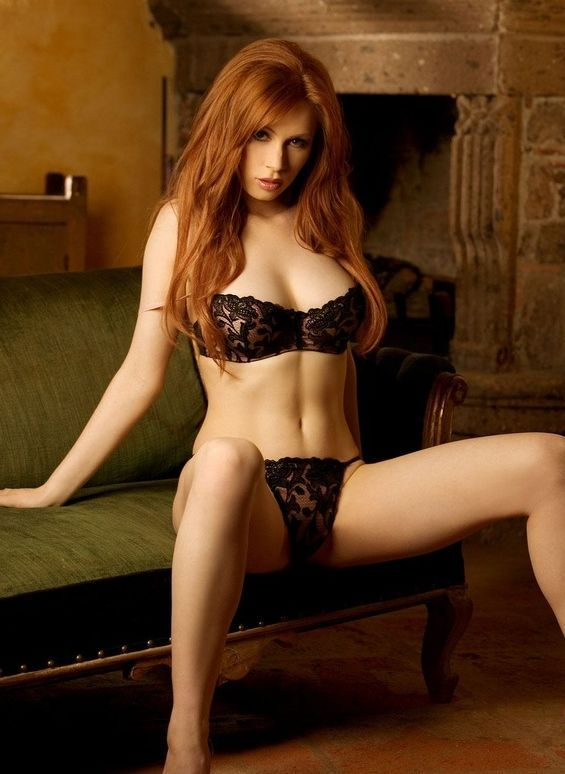 Erotic photos of redheaded girls are not