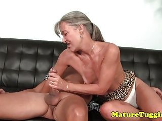 Handjob on couch galleries