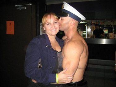 Male stripper in action gallery