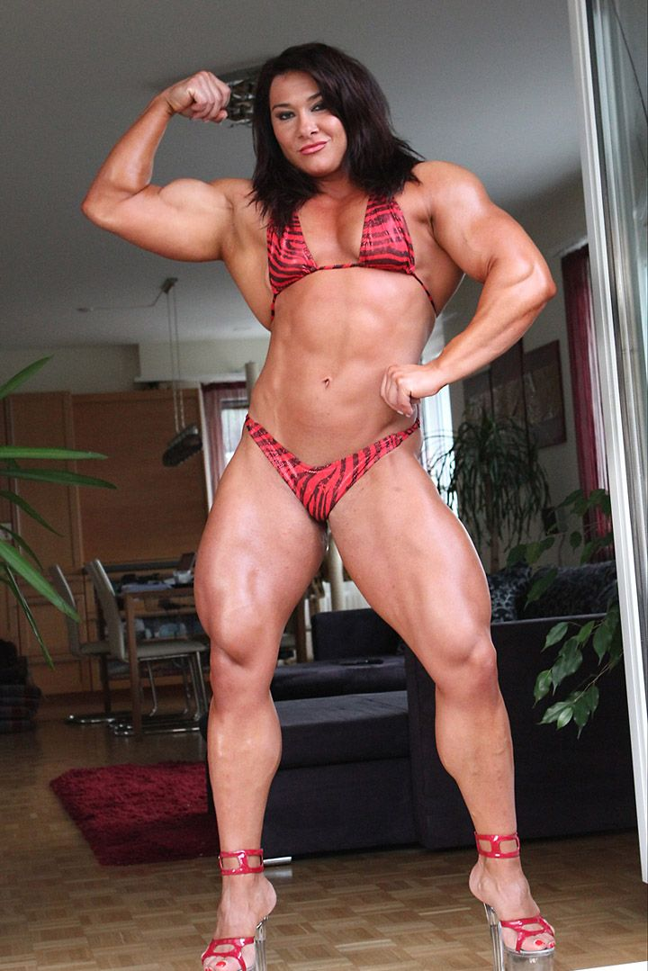 Tornado reccomend Nude female muscle behind