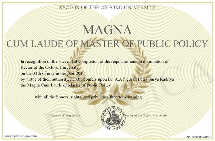 Cum laude vs magna cum laude