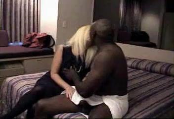 Mature interracial sex video