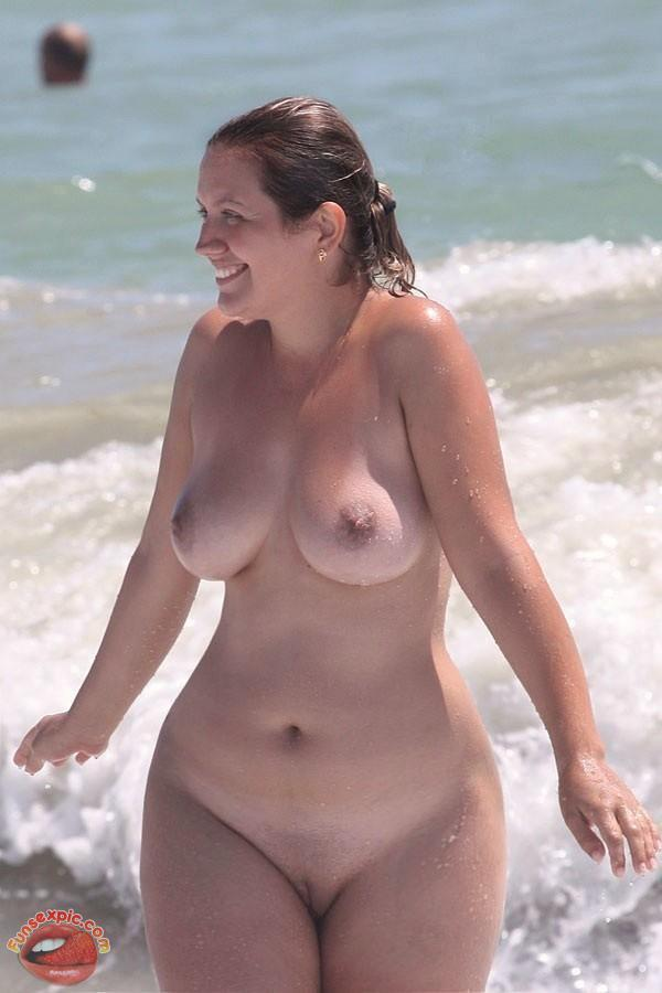 Too seemed Voluptuous redhead nude beach shame!