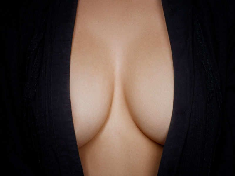 Medium sized perfect boob