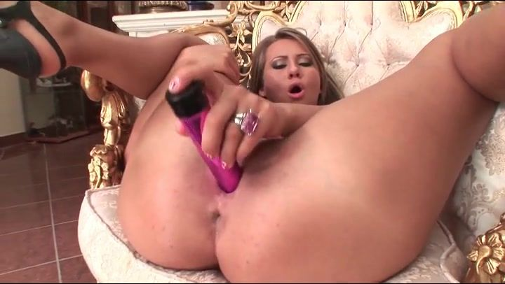 Speak nude woman sex with dildo