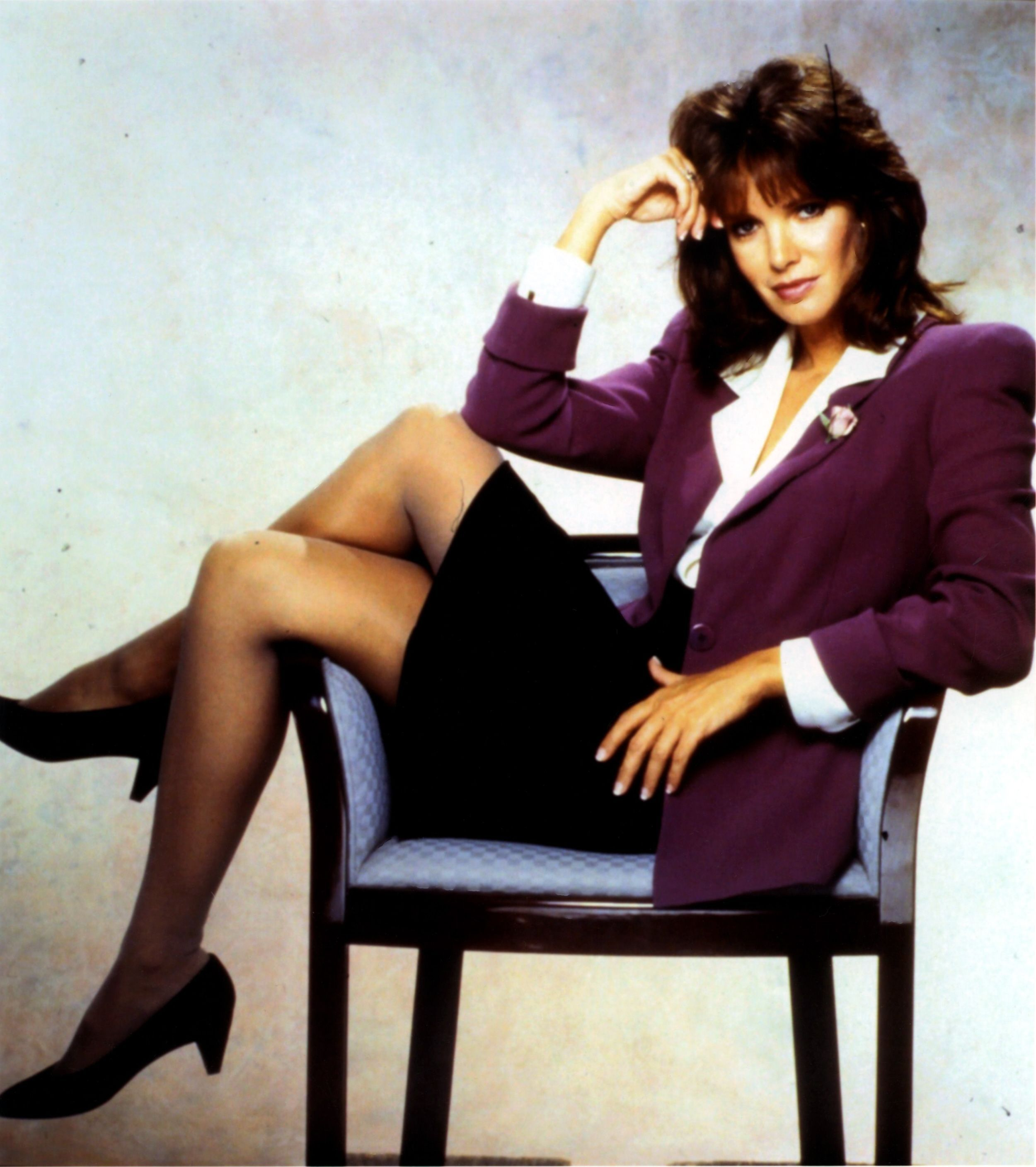Jaclyn smith in stockings