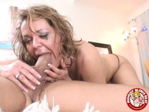 Amateur milf and young men
