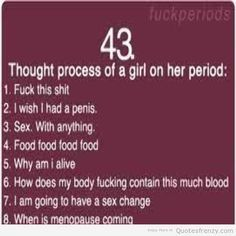 Bad M. F. reccomend Funny jokes about periods