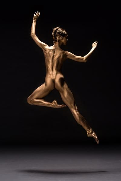 Art photo ballet nude
