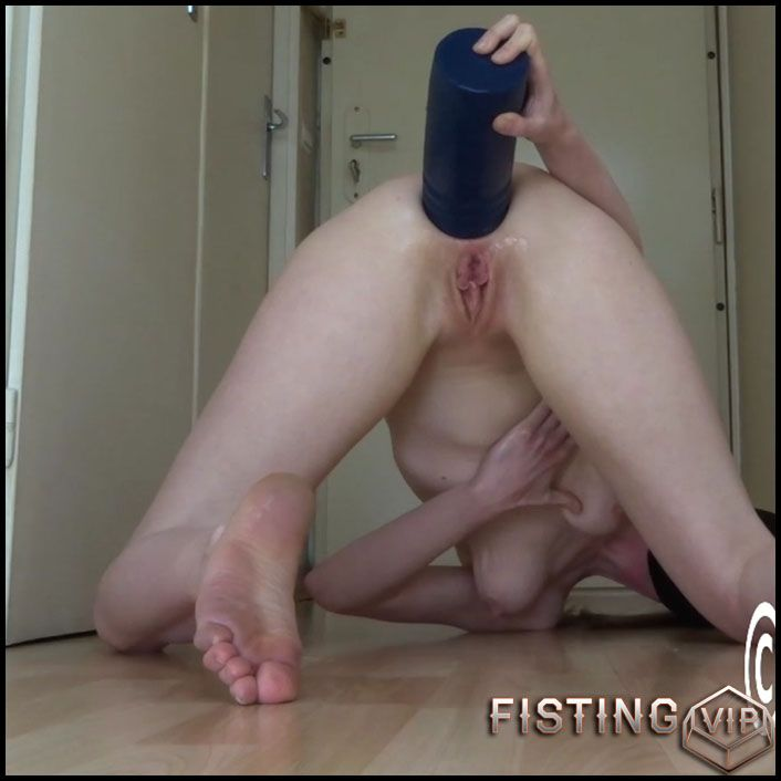 Ass dildo massive