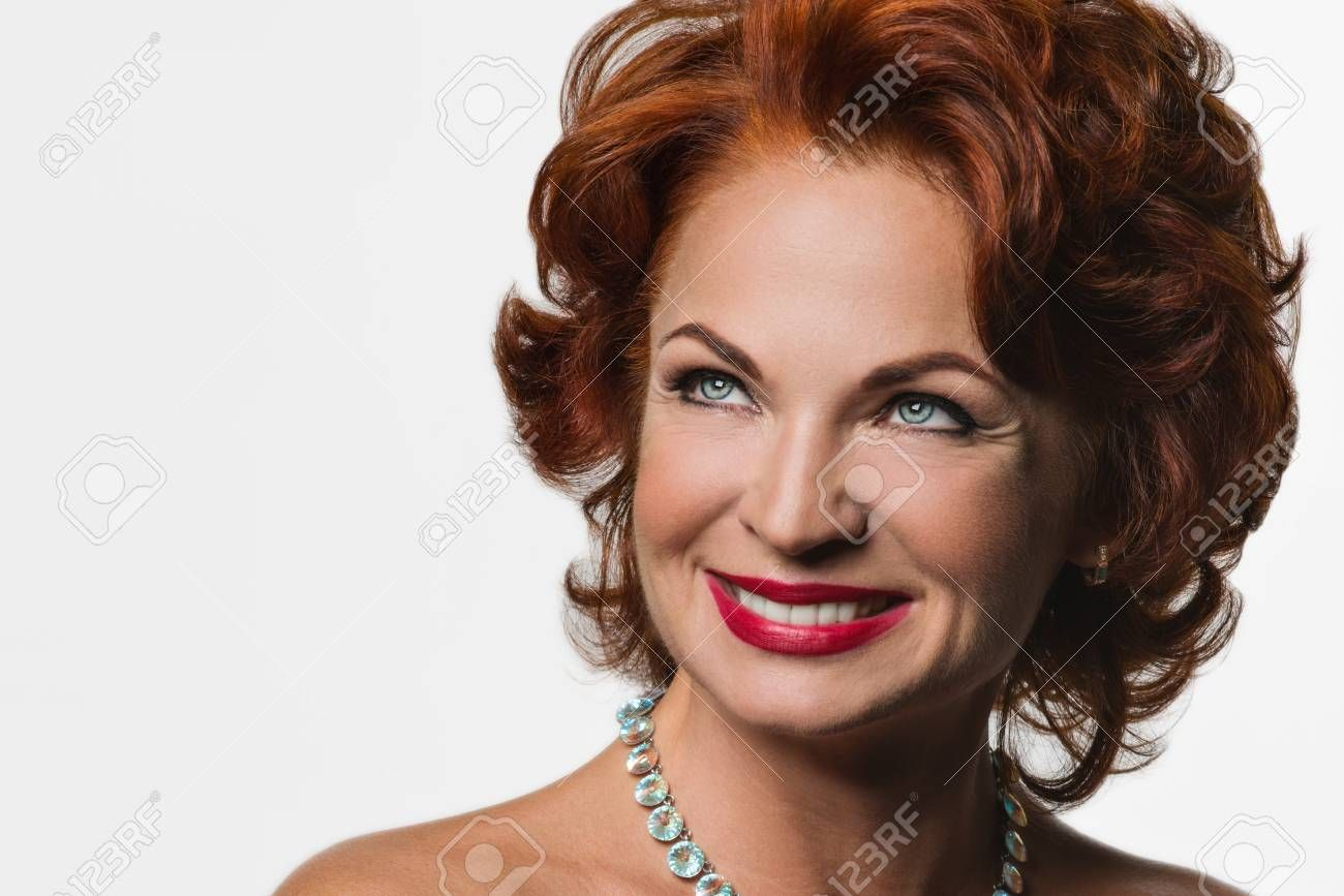 best of Redhead Mature woman older
