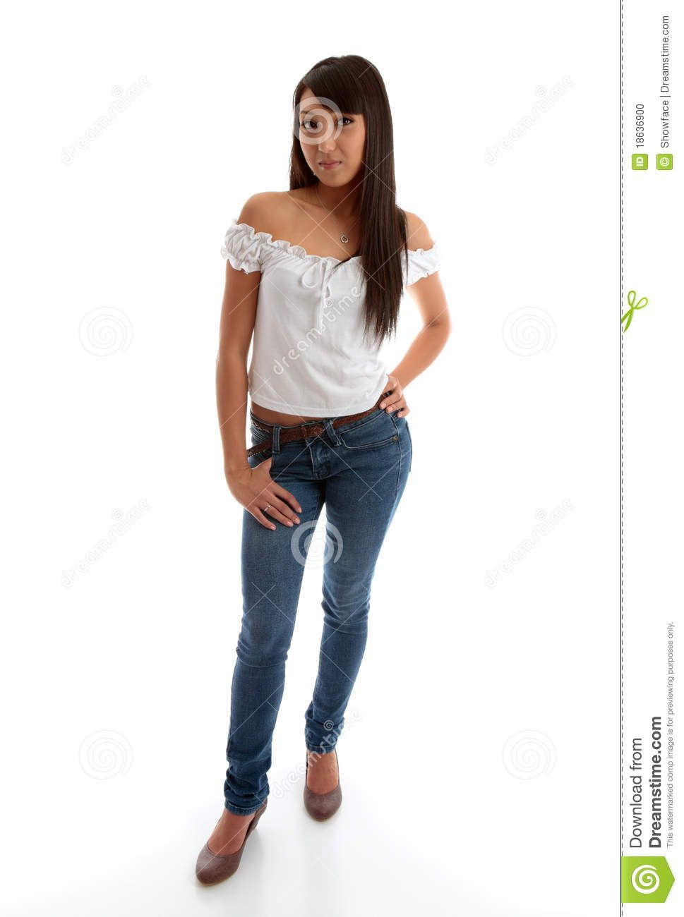 best of Wearing jeans Images young of girls