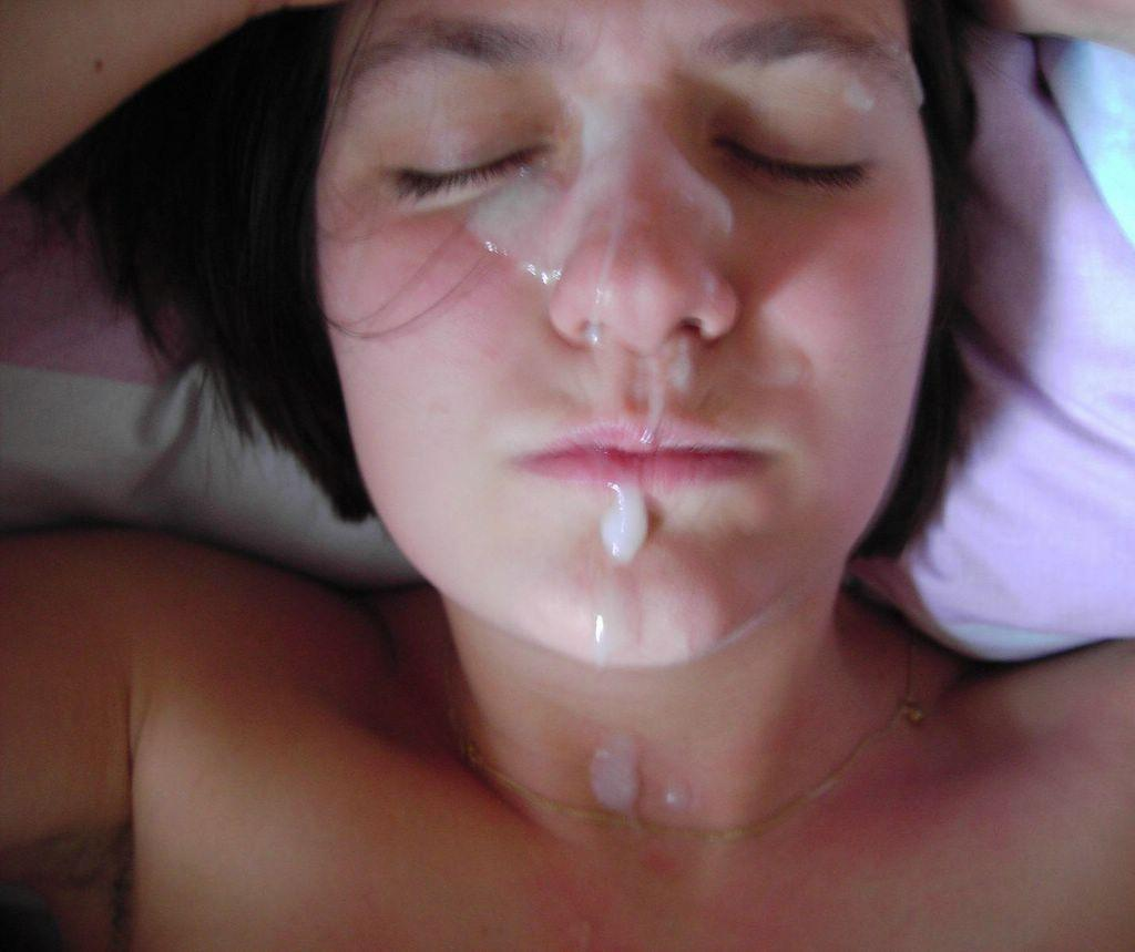 Stargazer reccomend Their very first facial cum shot
