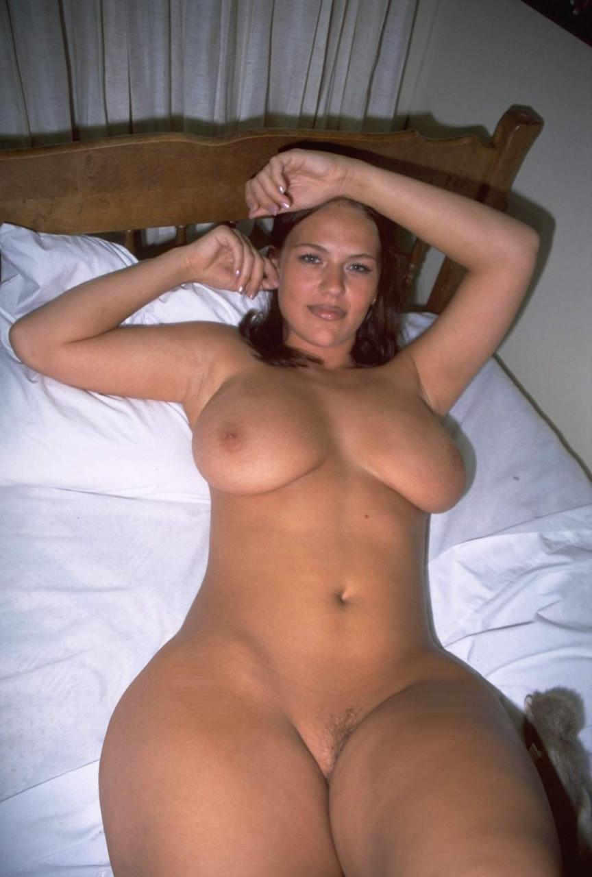 Big thighs naked wife