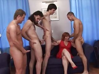 Mistress caned his ass