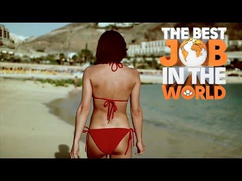 Best job in the world bikini