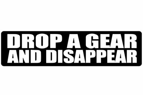 best of A gear disappear Drop and