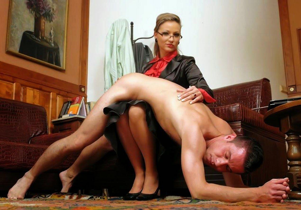 Woen who spank men