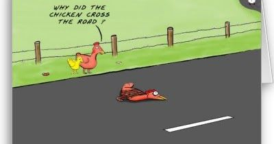 Chuckles reccomend Why did the chicken cross the road jokes hemingway