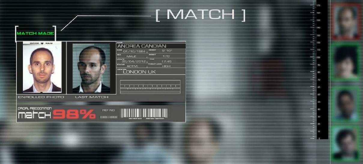 Facial matching software