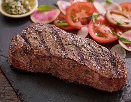 Big B. reccomend Kansas city strip steaks