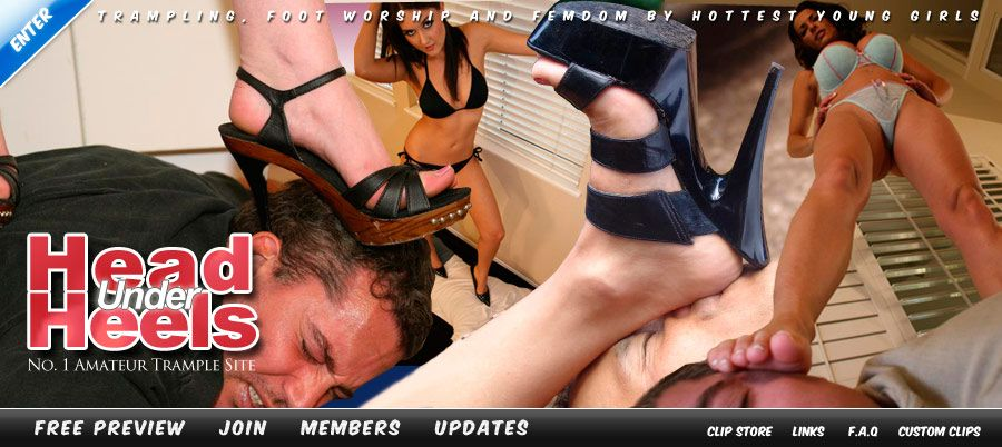 Domination foot free pic