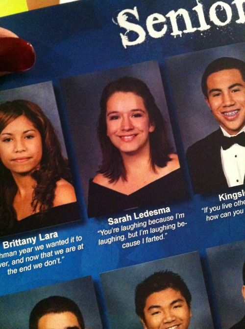 Funny senior quotes about partying